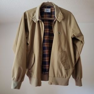 Men's IZOD Lacoste Tan Bomber Coat